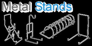 Metal display stands